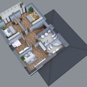 Проект  коттеджа -Д225