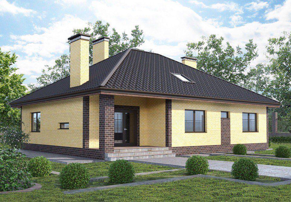 Уютный дом с мансардой и камином: от задумки до готового проекта